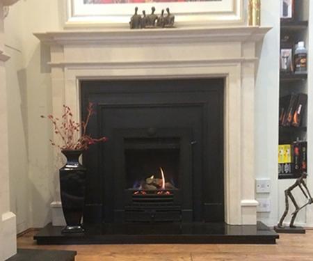 capital fireplaces kensington fire surround corinthian stone